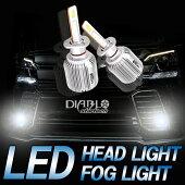 ファンレス8000ルーメンLEDフォグランプLEDヘッドライトH4(Hi&Lo)H1H3H7H8H11H16HB3HB4PSX26WLEDバルブ1年保証2個セット