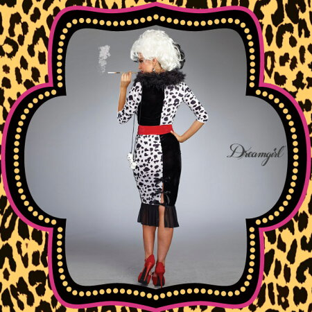 ■DreamGirl(ドリームガール)DG10671【クルエラ3点セット】