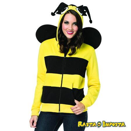 RASTAIMPOSTA(ラスタインポスタ)ジップアップフードRI-16021-SM【BEE/ミツバチ】