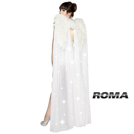 【2012新作】■ROMA(ローマ)小物:WING:RM4356【天使の羽/ホワイト】