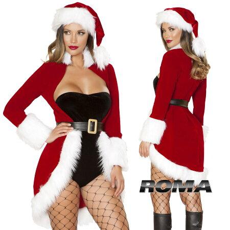 ■ROMACOSTUME(ローマ)RMC189【クリスマス:サンタ2点セット】