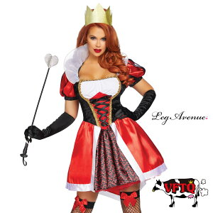Cosplay Costume Costume LEG AVENUE Leg Avenue LA 86839 Alice: Queen of Hearts 2 Piece Set 2019 New Genuine Red Queen Costume Cute Sexy Corset Bustier Panier Tutu Dance Stage Show Halloween Event Party