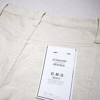 D.M.GDMGドミンゴ14-078Hコーデュロイアンクルテーパードパンツ