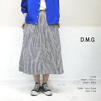 DMG17-415Xドミンゴ綿麻イージータックスカートD.M.G