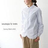 【クーポン最大15〜30%→23日20時まで】 sasanqua by trees サザンカバイツリーズ サニーワークシャツ AN-147