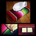 【メキシカンティッシュケース】メキシコのブランケットサラペで作りました!メール便送料無料!【smtb-k】