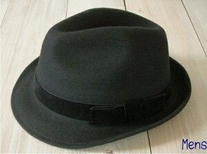 【 メンズ中折れハット帽子 】上質なウール100%パパと子供のお揃いを単品で購入できます!