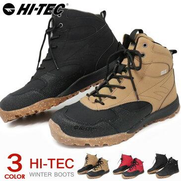 ハイテック アオラギ トレッキングシューズ 防水 防寒 メンズ 登山靴 スニーカー ウインターブーツ ハイカット HI-TEC AORAKI EXPLORER WPG HKU20
