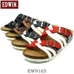 EDWIN エドウィン EW9165 フットベットサンダル メンズ コンフォートサンダル カジュアル 男性靴
