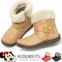 楽天ミッキーマウス ブーツ キッズ ショートブーツ ベビー 女の子 ディズニー ミニーマウス C1198 おしゃれ かわいい