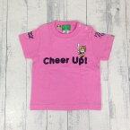 タイガースキッズTシャツ/600524/Cheer Up!!Tigers/チアーアップ/阪神/応援/プロ野球/プリントキッズTシャツ/CHEER UP/チアーアップタイガース/半袖Tシャツ