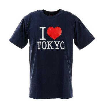 セブンユニオン(7UNION) アイラブ東京 Tシャツ I LOVE TOKYO T001 Navy L (Men's)