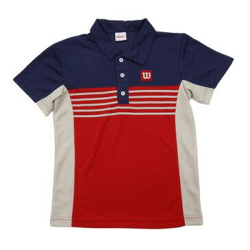 ウイルソン(WILLSON) ポロシャツ WX5686S-11 (Jr)