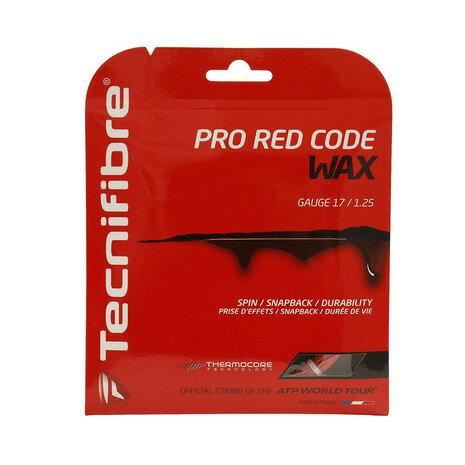 テニス, ガット Technifibre PRO RED CODE WAX125 TFG521RD25