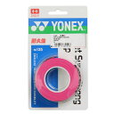 ヨネックス(YONEX) テニスグリップテープ ウエットスーパー ストロンググリップ 3本巻 AC135-026 (Men's、Lady's、Jr)