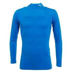 プーマ(PUMA) コンプレッションモックネックシャツ 65633102 【サッカー スポーツ ウェア メンズ インナー アンダー シャツ 長袖】 (メンズ)