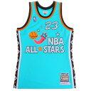 ミッチェルアンドネス(Mitchell&Ness) NBA ALL STARS AUTHENTIC マイケル・ジョーダン AJY4GS18066ASETEAL96MJO (Men's)