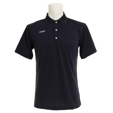 エックスティーエス(XTS) ポロシャツ メンズ 半袖 ドライプラス 吸汗速乾 751G6TF3548 NVY 【 バスケットボール ウェア 】 (メンズ)