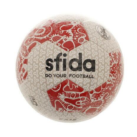 スフィーダ(SFIDA) サッカーボール VAIS NK Edition BSF-VN02 WHT/RED 5 (Men's、Lady's、Jr)