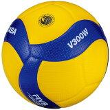 【8月11日までエントリーででP5倍~】ミカサ(MIKASA) バレーボール 5号球 (一般用・大学用・高校用) 国際公認球 検定球 V300W (Men's、Lady's)