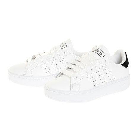 アディダス(adidas)スニーカーレディースアドバンコート用BLDEF1034白ホワイトオンライン価格通学(レディース)