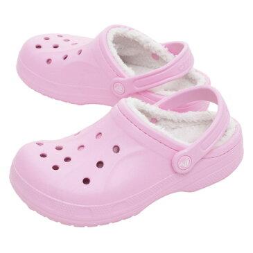 クロックス(crocs) 訳あり特価【多少の傷、汚れにつき処分価格で大奉仕、売り切れご容赦!】Winter Clog PNK #203766-6U5 (Lady's)