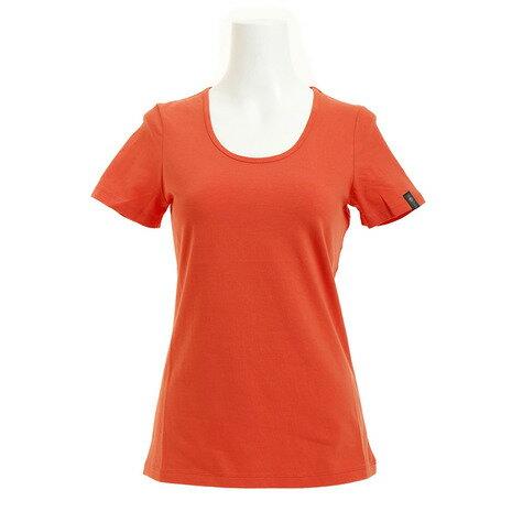 メーカーブランド(BRAND) フィットネスTシャツ HPE02-F-RED (Lady's)