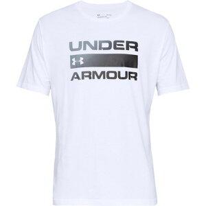 アンダーアーマー(UNDER ARMOUR) Tシャツ メンズ チーム イシュー ワードマーク 半袖Tシャツ 1358570 WHT/BLK AT オンライン価格 (Men's)