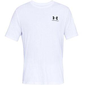 アンダーアーマー(UNDER ARMOUR) スポーツスタイル レフトチェスト 半袖Tシャツ 1358554 WHT/BLK AT (Men's)