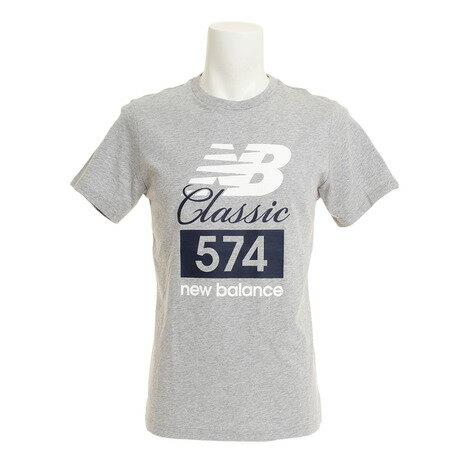 ニューバランス(newbalance)クラシック574TシャツAMT81543AGオンライン価格(メンズ)
