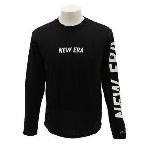 トップス, Tシャツ・カットソー NEW ERA LONGTECHTEE LTLOGOBK 12156018