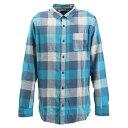 クイックシルバー(Quiksilver) MOTHERFLY フランネル チェックシャツ 長袖 19FWEQYWT03918BRN1 (メンズ)