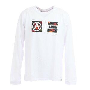 エアボーン(ARBN) Tシャツ メンズ 長袖 BOTANICAL BOXES AB03AW1219 WHT オンライン価格 (Men's)