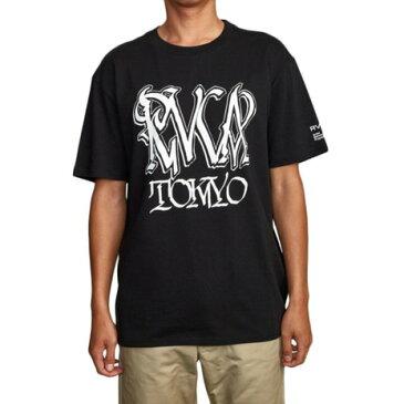 RVCA DEFER TOKYO 半袖Tシャツ AJ042218 BLK (Men's)