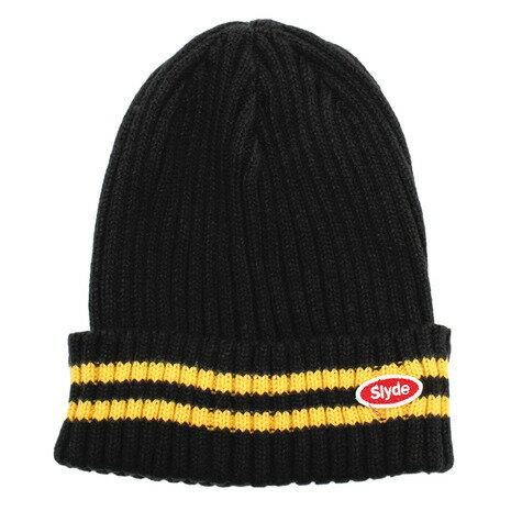 メンズ帽子, ニット帽 SLYDE sl2018081014-BLYL
