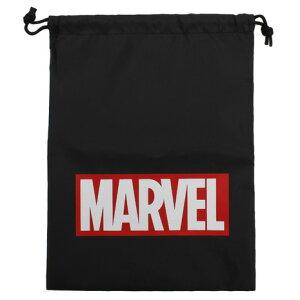 ポイント10倍〜!要エントリー!3月1日0:00〜23:59まで マーベル・コミック(Marvel Comics) 巾着 MV-5570389BK (Jr)