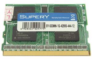 ★BUFFALO-D2/P533 ★I・O DATA-LDX533対応品▲相性保証▼ MicroDIMM 172pin PC2-4200 DDR2-533...