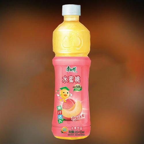 康師傅水蜜桃 カンシーフー 中華飲料 人気飲み物 ドリンク ペットボトル飲料 中国産 500ml