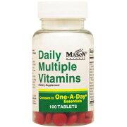 デイリー マルチプル ビタミンズ ビタミン サプリメント アメリカ タブレット