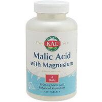 1日4粒でリンゴ酸1500mg&マグネシウム500mを含有、ビタミンB6も配合のサプリメント!