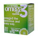 コロメガ オメガ3 スクィーズ (EPA・DHA含有)※レモンライム風味[サプリメント/健康サプリ/サプリ/DHA/EPA/粉末/栄養補助/栄養補助食品/アメリカ/国外/袋/サプリンクス/通販/楽天]