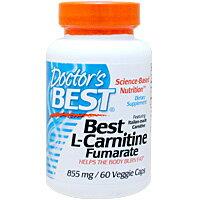 ベスト Lカルニチン フマル酸塩 855mg 60粒 [サプリメント/ダイエット/ダイエットサプリ/サプリ/カルニチン/栄養補助/栄養補助食品/アメリカ/カプセル/サプリンクス]