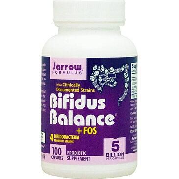 ビフィズス バランス + FOS 100粒 サプリメント 健康サプリ サプリ 乳酸菌 ビフィズス菌 栄養補助 栄養補助食品 アメリカ カプセル サプリンクス