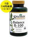 バランス ビタミンB100 100粒(ビタミンB群サプリメント) サプリメント 健康サプリ サプリ ビタミン ビタミンB群 栄養補助 栄養補助食品 アメリカ カプセル