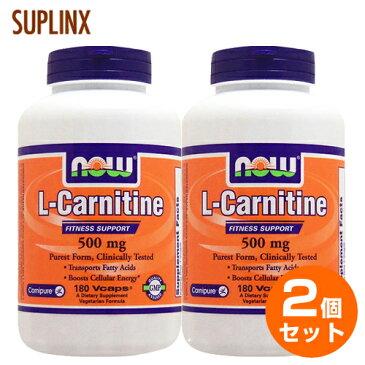 【2個セット】[ お得サイズ ] Lカルニチン 500mg 180粒(071-00073)