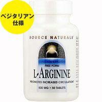 Lアルギニン 500mg 50粒[サプリメント/健康サプリ/サプリ/フコイダン/栄養補助/栄養補助食品/アメリカ/タブレット/サプリンクス]