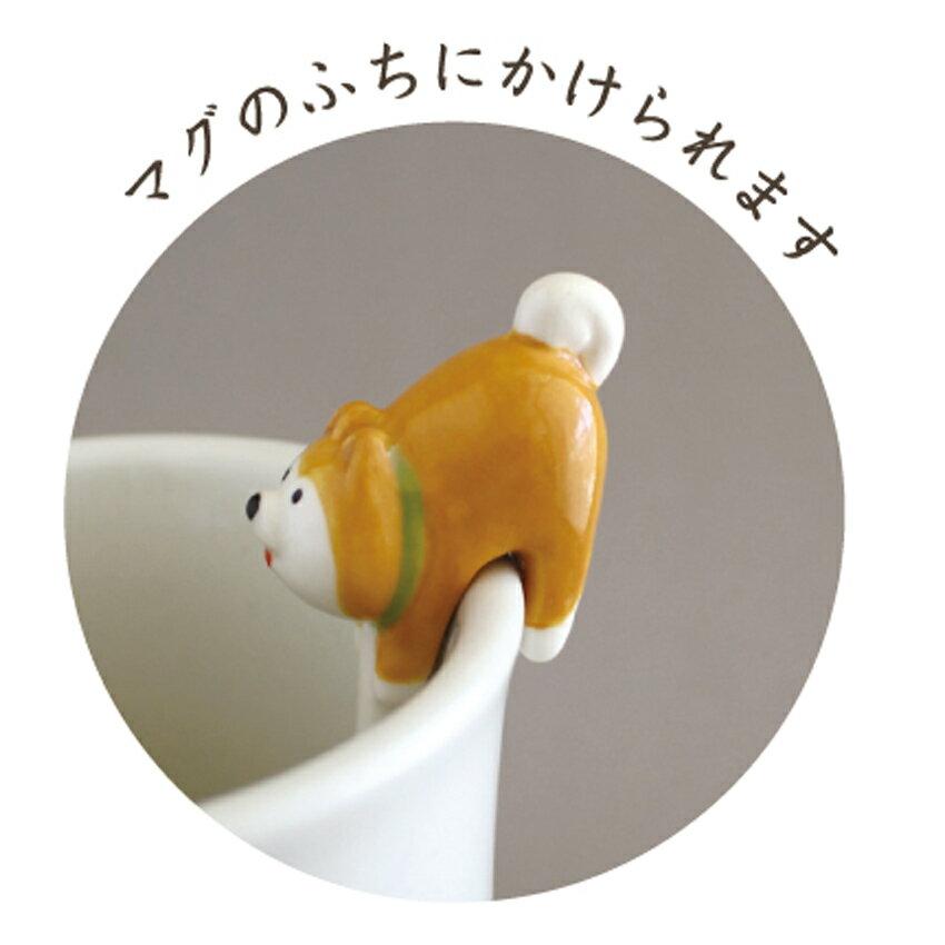 DECOLE SHIBA HACHI シリーズお尻スプーン ZCB-74544 ハチワレ