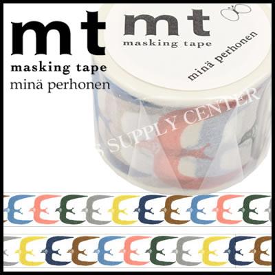 ★2017年3月新作★カモ井 マスキングテープ mt×mina perhonen(ミナペルホネン・gо!)<35mm幅> MTMINA35