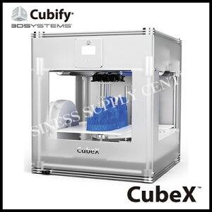 【送料無料】【代引不可】3Dシステムズ パーソナル3Dプリンター CubeX(キューブX) シングルヘッド【よくばり通信OA秋120967】【P15Aug15】