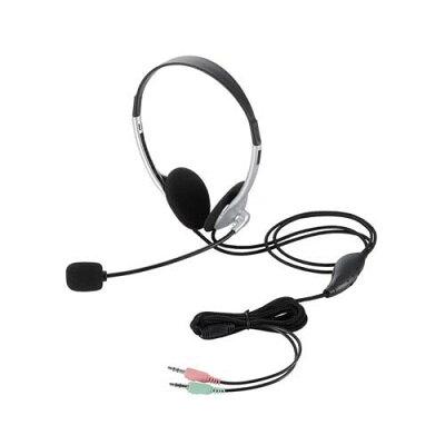 ヘッドセット両耳オーバーヘッドHS-HP22SV